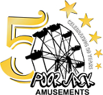 Poor Jack Amusements 50 Years Logo